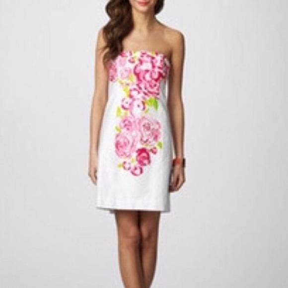Lilly Pulitzer Bowen Floral  Dress size 00